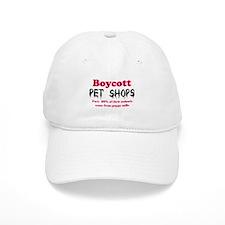 Boycott Pet Shops Baseball Cap
