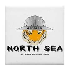 Oilman North Sea Tile Coaster