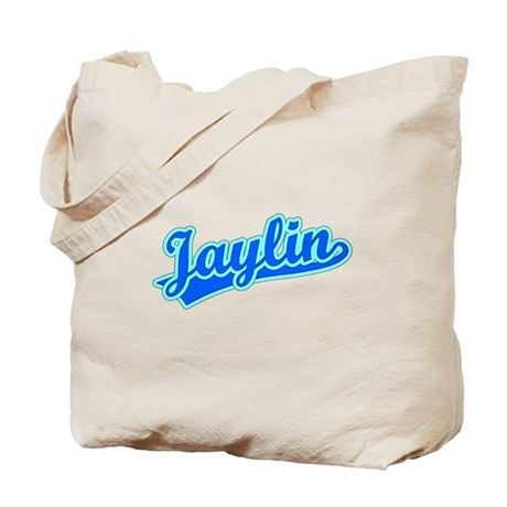 Retro Jaylin (Blue) Tote Bag