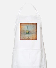 Glass of Wine BBQ Apron