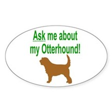 OH Ask Me Oval Sticker (10 pk)