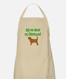 OH Ask Me BBQ Apron