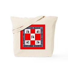square dancing square Tote Bag