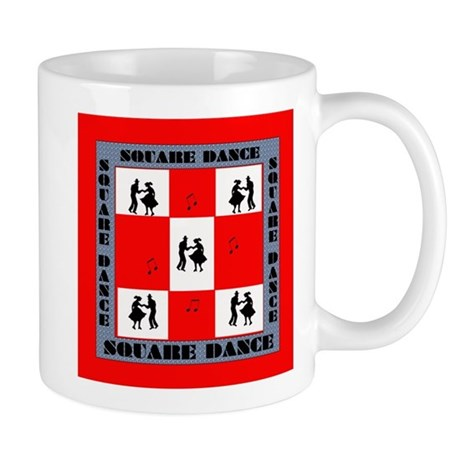 square dancing square Mug