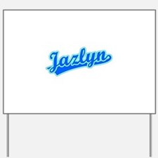 Retro Jazlyn (Blue) Yard Sign