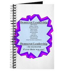 """""""Democrat Leaders?"""" Journal"""