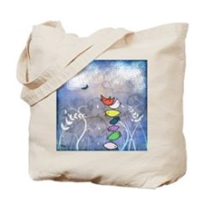 Bird Pile Up Tote Bag