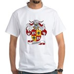 Mendez Family Crest White T-Shirt