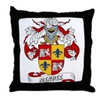 Mendez Family Crest Throw Pillow