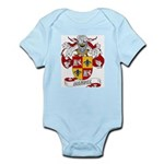 Mendez Family Crest Infant Creeper