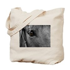 Horse Eye Tote Bag