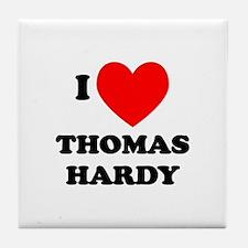 Thomas Hardy Tile Coaster