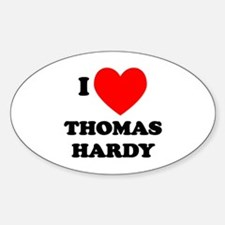 Thomas Hardy Oval Decal