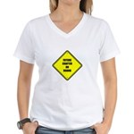 Baby On Board - Future Crafter Women's V-Neck T-Sh