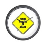 Baby On Board - Future Crafter Wall Clock