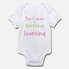 Cute Knitting yarn men crafts Infant Bodysuit