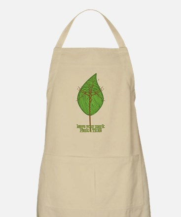 Leave your Mark Tree BBQ Apron
