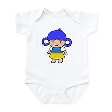Ukraine Flag Girl Infant Bodysuit