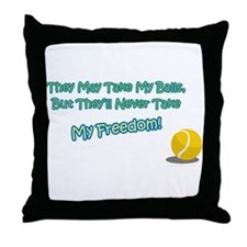 Cute Pets spayed or neutered Throw Pillow