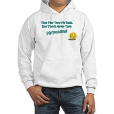 Funny Pets spayed or neutered Hoodie