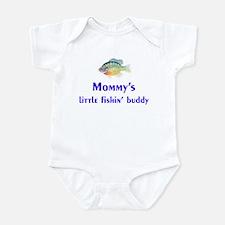 mommy's fishin' buddy Infant Bodysuit