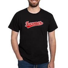 Retro Farmer (Red) T-Shirt