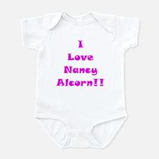 I Love Nancy Alcorn Infant Bodysuit