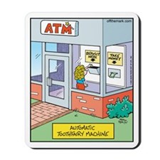 ATM Toothfairy Machine Mousepad