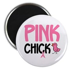 """Pink Chick 6 2.25"""" Magnet (100 pack)"""