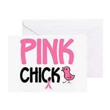 Pink Chick 6 Greeting Card