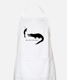 How will you die? BBQ Apron
