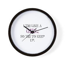 Unique Ladies Wall Clock