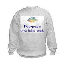 pop-pop's fishin' buddy Sweatshirt