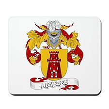 Meneses Family Crest Mousepad