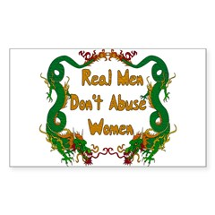 Ending Domestic Violence Rectangle Sticker 50 pk)
