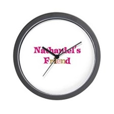 Nathaniel's Friend Wall Clock