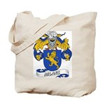 Milans Family Crest Tote Bag
