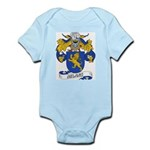 Milans Family Crest Infant Creeper