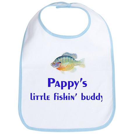 pappy's fishin buddy Bib