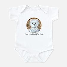 Westie Medallion Terrier Infant Bodysuit