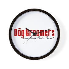 The Dog Groomers Bada Bing Wall Clock