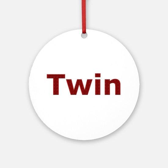 Twin Ornament (Round)