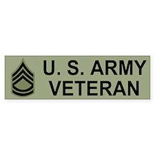 Sergeant First Class Bumper Sticker 1