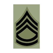 Sergeant First Class Decal