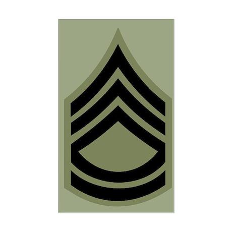 Sergeant First Class Sticker