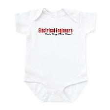 The Electrical Engineers Bada Bing Infant Bodysuit