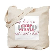 My heart is in Camp Scania Tote Bag