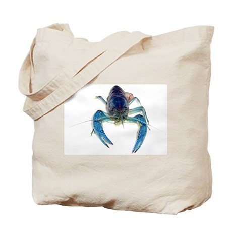 Blue Crayfish Tote Bag