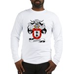 Montes Family Crest Long Sleeve T-Shirt