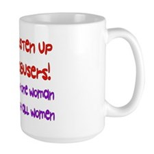 Message To Abusers Mug